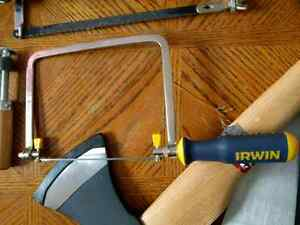 Irwin detail saw. Pull cutting