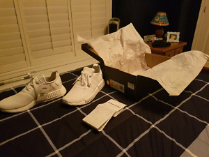 Adidas Nmd r1 triple white size 11 Deadstock