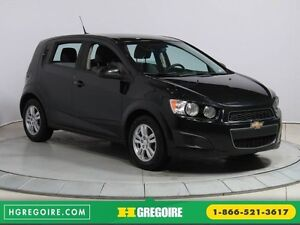 2012 Chevrolet Sonic LS MAGS