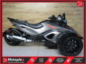 2011 Can-Am Spyder  RS-S 71,07$/SEMAINE
