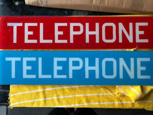 Telephone Booth Glass
