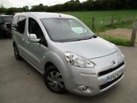 2013 PEUGEOT PARTNER E-HDI TEPEE S AUTOMATIC WHEELCHAIR ACCESS VEHICLE MPV (MULT