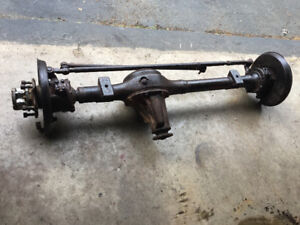 Samurai front axle and rods.
