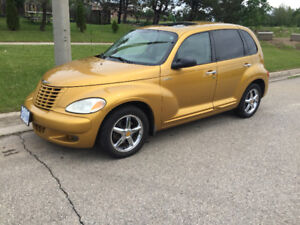 Gold Chrysler PT Cruiser Dream Edition very well maintained