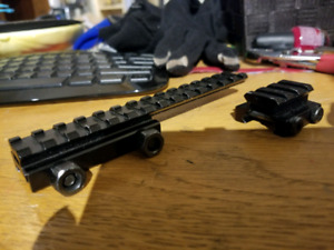 R.I.S. Rail Risers for Airsoft Paintball Toy Guns