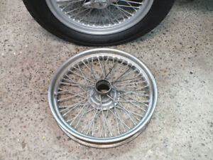 MG TC wire wheel