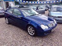2003 Mercedes C200 CDI Coupe - Amazing - FSH - Part Exchange - Aylsham Road Affordable Car Centre