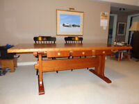 Harvest Table - Solid Cherry