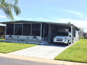 For Sale Double Wide Mobile, Van and Golf Cart Included
