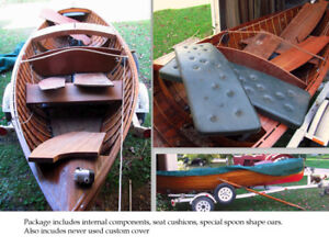 "Disappearing Propeller Boat - 18'-6"" LOA"