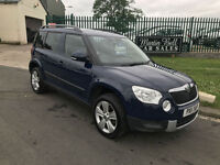 11 SKODA YETI 2.0 TDI SE 4X4 1 OWNER FSH VERY CLEAN EXAMPLE