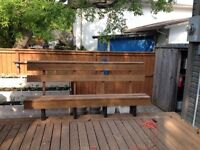 Deck Mounted Bench