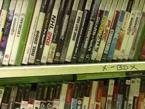 XBOX GAMES over 100 games to choose from, $3 each