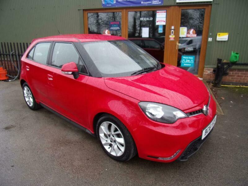 MG MG3 1.5 VTi-TECH 3Form Sport 5dr [Start Stop] PETROL MANUAL 2016/16