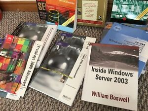 Large Assortment of IT Computer Networking Textbooks Peterborough Peterborough Area image 5