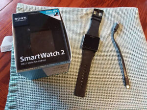SONY SMARTWATCH 2 NEVER USED!!