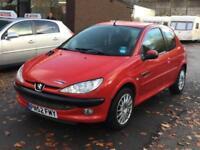Peugeot 206 Look 3dr 2002/52 Petrol Manual Low Mileage Bargain Ideal 1st Car