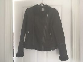 Black TU at Sainsbury's Biker Style Jacket