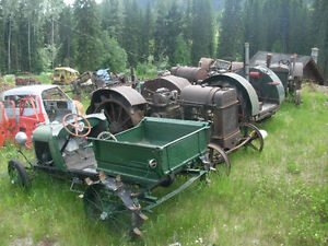 Antique Tractors & Farm Equipment