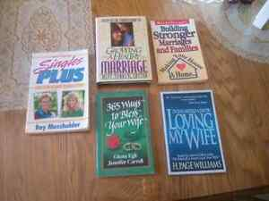 4 Christian MARRIAGE books + 1 for Singles