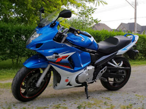 2009 Suzuki GSX 650F with low kms and Touring Upgrades!