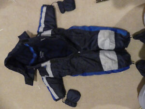 Boys and girls snow suits