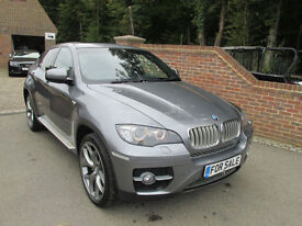2008 (08) BMW X6 35D XDRIVE AUTO + HIGH SPEC + FULL HISTORY