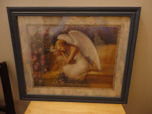Framed Angel Picture