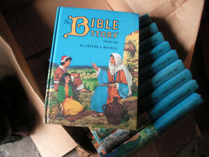 "Set of 1953 ""Bible Story Books"" by Arthur S. Maxwell"