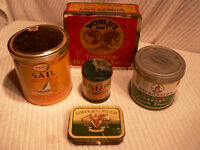 Vintage Tobacco tin collection