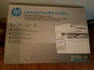 New in box HP Laserjet Printer