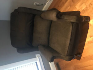 Quality Recliner $1300 new.  Showroom condition