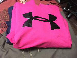Pink under armour hoodie St. John's Newfoundland image 1