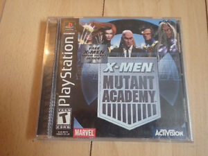 X-Men Mutant Academy Playstation One PS1 PSOne Video Game