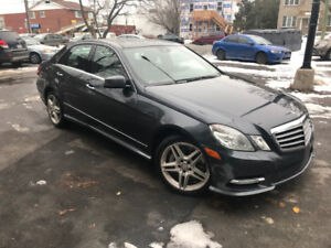 2013 Mercedes-Benz E-Class E 550 4Matic Sedan