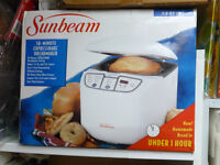 ***NEW SUNBEAM BREADMAKER H5837 **********reduced