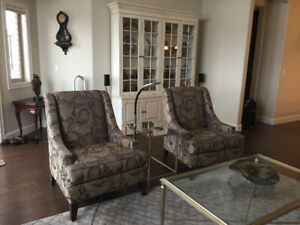 LIKE NEW PAIR OF ETHAN ALLEN CHAIRS
