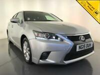 2015 LEXUS CT 200H LUXURY AUTOMATIC HYBRID FREE ROAD TAX 1 OWNER SERVICE HISTORY