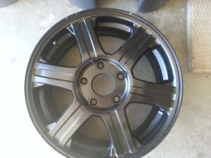 """for sale set of 4 ,  17"""" rims for Chrysler Pacifica"""