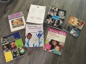 Early Childhood Education textbooks. (ECE) 7/$120
