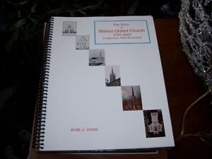 Book The Story of Wilmot United Church 1791-2002 Fredericton
