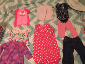 Baby girl clothes lot 6-12 month sizes Downtown-West End Greater Vancouver Area image 1