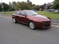 Alfa Romeo 159 2.2 JTS 16V LUSSO (red) 2006