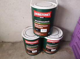 Johnstones Woodworks shed and fence paint