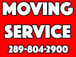 MOVING COMPANY MOVERS TRUCK VAN RENTAL LAST MINUTE RUSH SERVICE --------------------------------> TEXT ONLY 289-804-2900