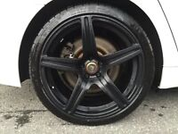 "21"" wheels  black mags   VORSTEINER"