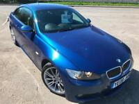 BMW 325 3.0 M SPORT COUPE SAT NAV £34 WEEK NO DEP PARK SENSORS BLUETOOTH 2008