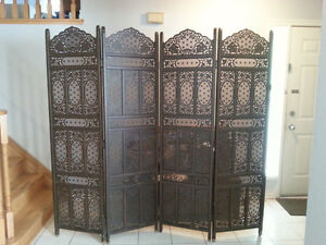 ESPRESSO Wooden Room Dividers/ Screens Islamic Decor