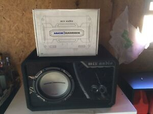 Selling Car Subwoofer and Amp
