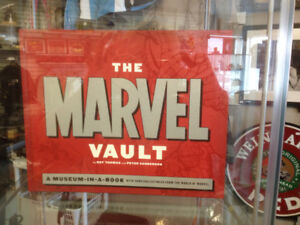 (sold) Book - The Marvel Vault-a museum in a book (Hard cover)